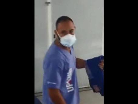 Falso médico que atendia em ala de Covid e chegou a se vacinar contra doença é preso em UPA no Rio
