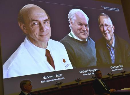 Nobel de Medicina 2020 vai para cientistas que descobriram vírus da hepatite C