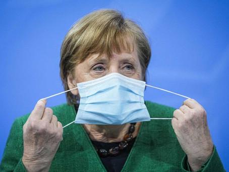 Merkel diz que Alemanha vive 'nova pandemia' e anuncia restrições para a Semana Santa