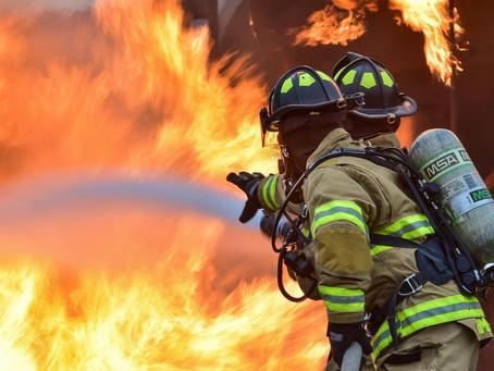Criança é internada em estado grave após incêndio na Estrutural-Df