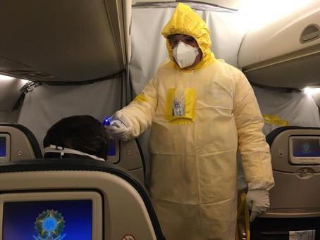 Ministério da Saúde vai avaliar se tripulação de aviões com repatriados da China deve ficar em quare