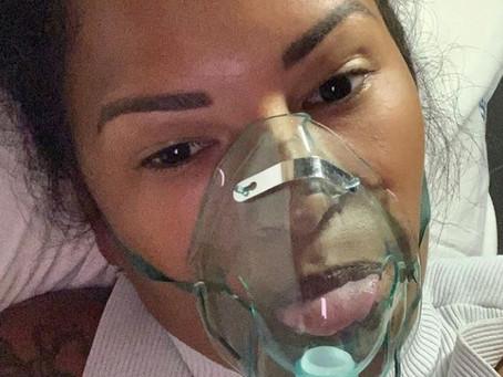 Ariadna relembra sofrimento com Covid-19: 'Achei que fosse morrer'