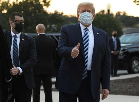 Trump retoma atos públicos, apesar das dúvidas sobre sua saúde