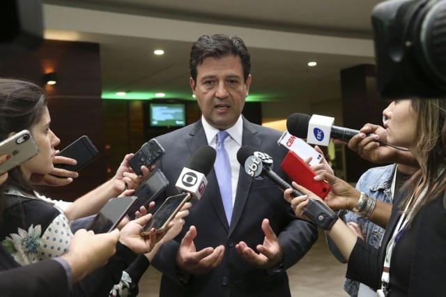 O ministro da Saúde, Luiz Henrique Mandetta — Foto: Antonio Cruz/Agência Brasil