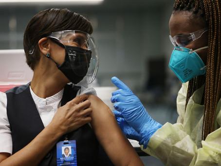 Brasil passa EUA em percentual de vacinados com 1ª dose, mas nº de totalmente imunizados é bem menor