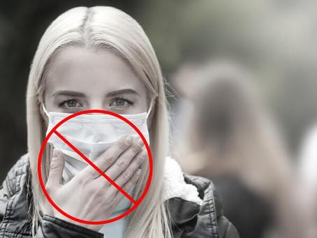 Veja os erros mais comuns no uso de máscaras e como usá-las corretamente
