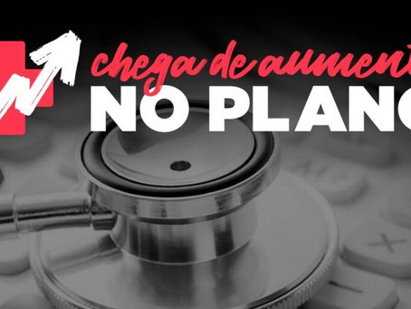 Planos de saúde: Campanha mobiliza consumidores pela suspensão de reajustes