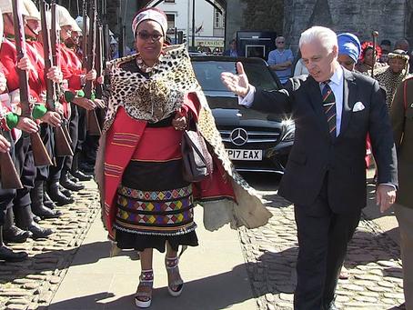 AmaZulu Queen Mantfombi MaDlamini Zulu