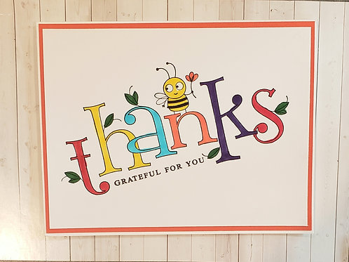 Thank You -Bee Card