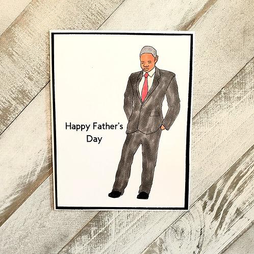 Black Dad Card