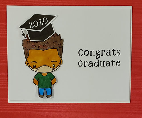 Graduation Card-Boy