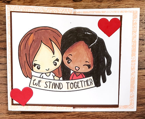 Allyship Card-We Stand Together