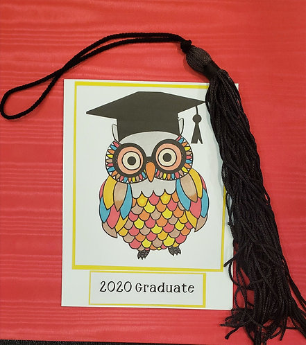 Graduation Card-Owl