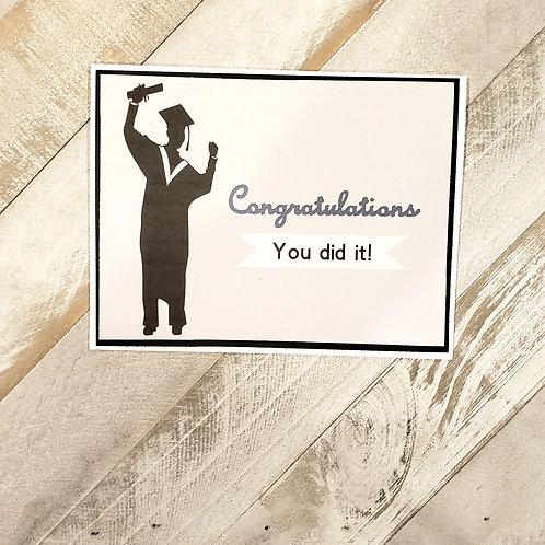 Graduation Card,  Card for Him