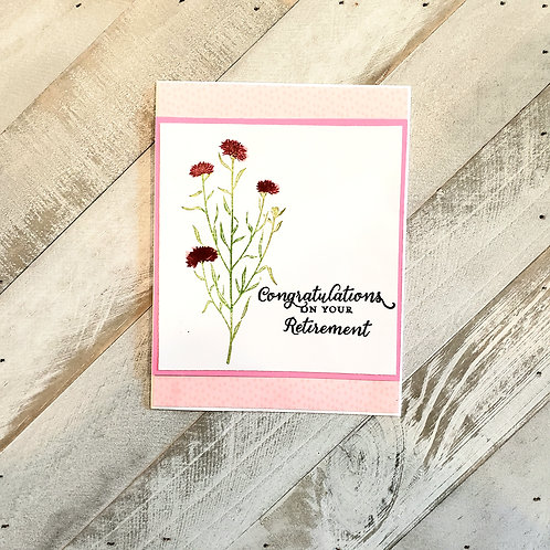 Congratulations,  Retirement Card