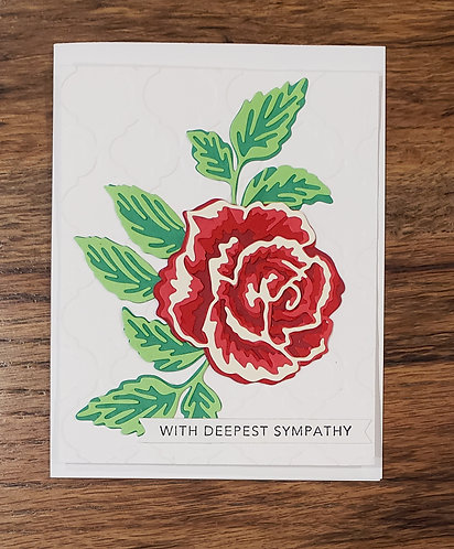Sympathy-Layered Rose