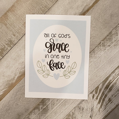Baby Card- Grace (Boy)
