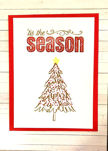 Christmas -Tis the Season-Red