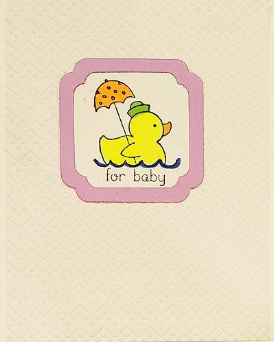 New Baby - Baby Duck