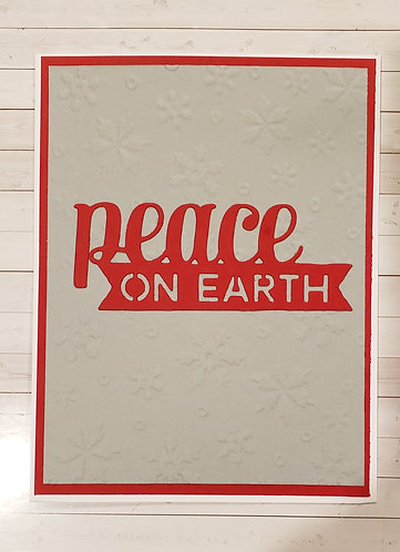 Christmas- Peace on Earth