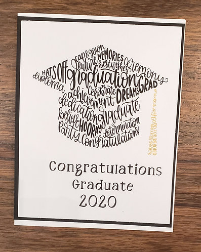 Graduation Card-Cap