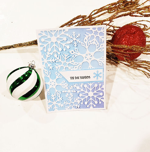 Christmas Card-Snowflakes