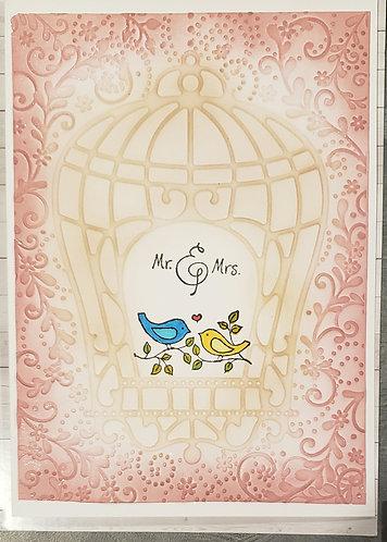 Wedding -Bird Cage