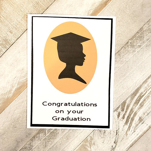 Graduation Card, Card for Her