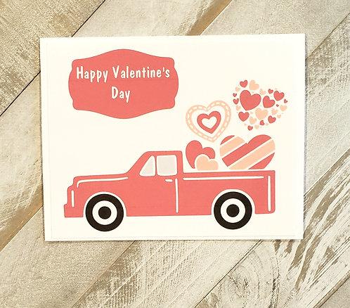 Valentines Day -Truck