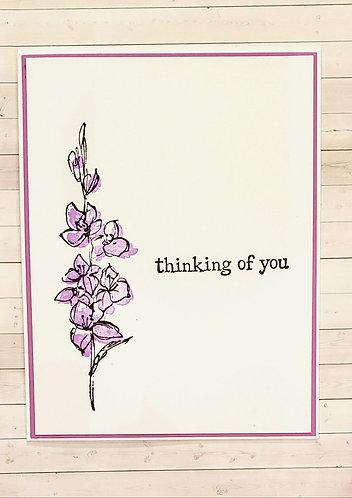 Thinking of You- Lilac Bush