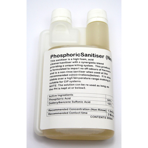 PHOSPHORIC ACID BLEND SANITISER 300ML