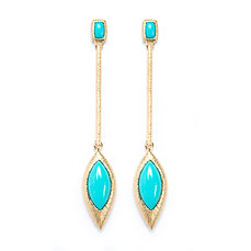 Sleep Beauty Drop Earring