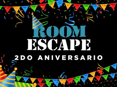 Segundo Aniversario Room Escape Ecuador