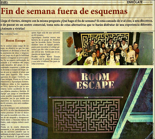 Room Escape en Babel