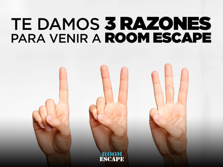 Si todavía no has probado los juegos de escape, te damos tres razones que acabarán de convencerte.