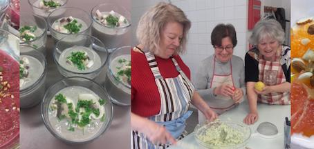 Cuisine & convivialité pour nos seniors