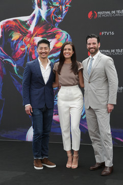 Brian Tee, Torrey DeVitto & Colin Donnell - Chicago Med