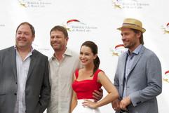 Mark Addy, Sean Bean, Emilia Clarke & Nikolaj Coster-Waldau - Game of Thrones