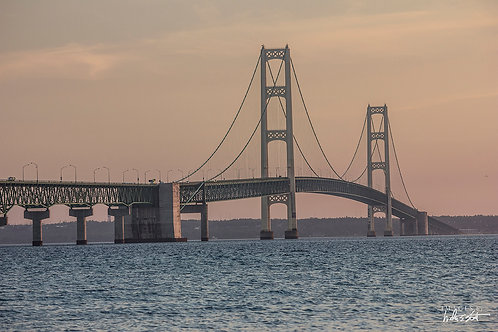 Mackinac Bridge Sunrise