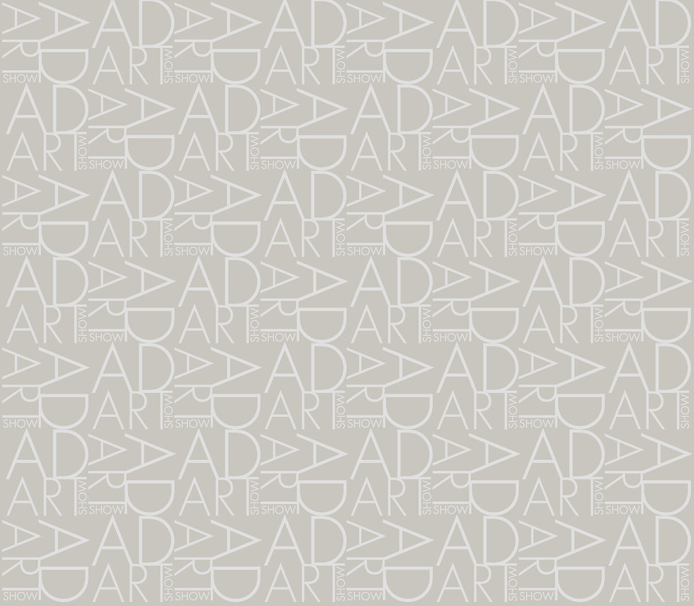 AD ART LOGO PATTERN GRAY ON GRAY EXT LIG