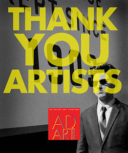 THANK YOU ARTISTS