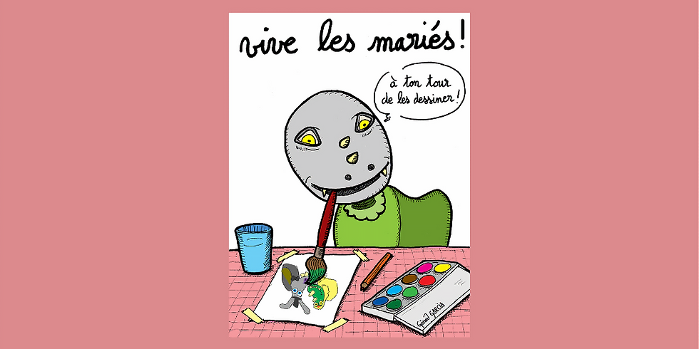 """Concours de dessin """"Le Mariage de la Baragogne et du Tamarou"""" 2021"""