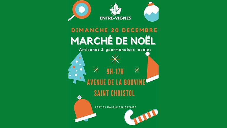Marché de Noël Entre-Vignes 2020