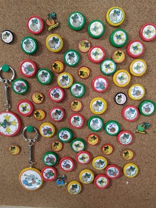 Pin's et portes clés