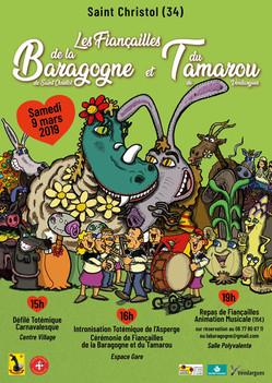 Affiche fiançailles la Baragogne 2019