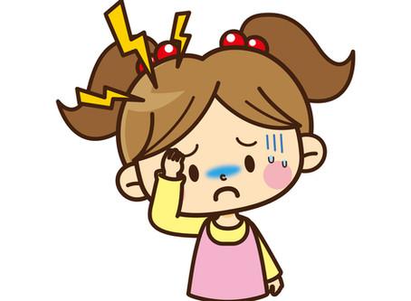 原因不明の娘の頭痛