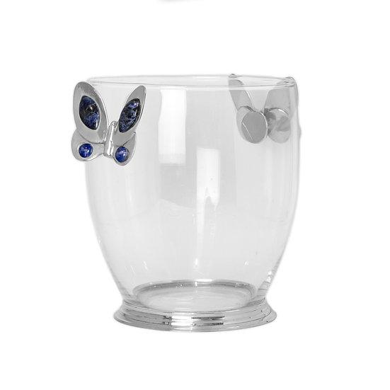 Balde de Gelo Cooler - Blue Butterfly