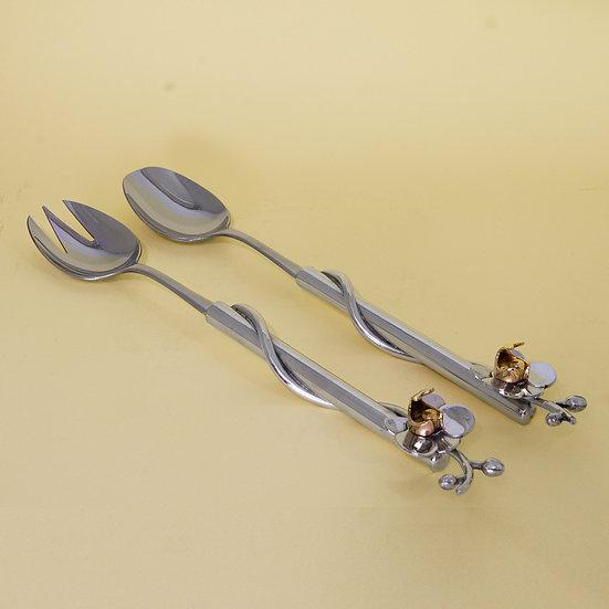 Conjunto de Salada - Orquídea