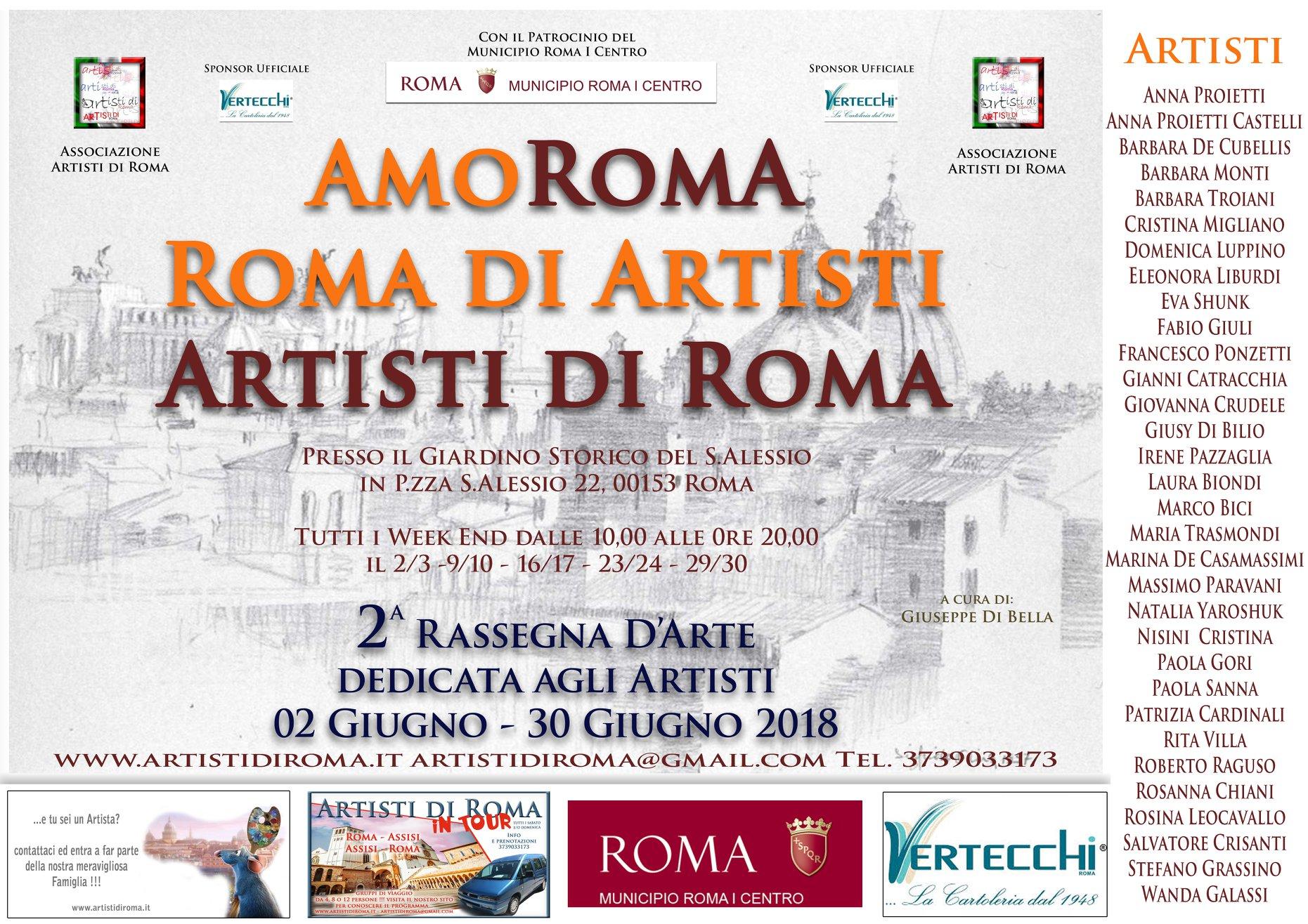 Mostra con Artisti di Roma
