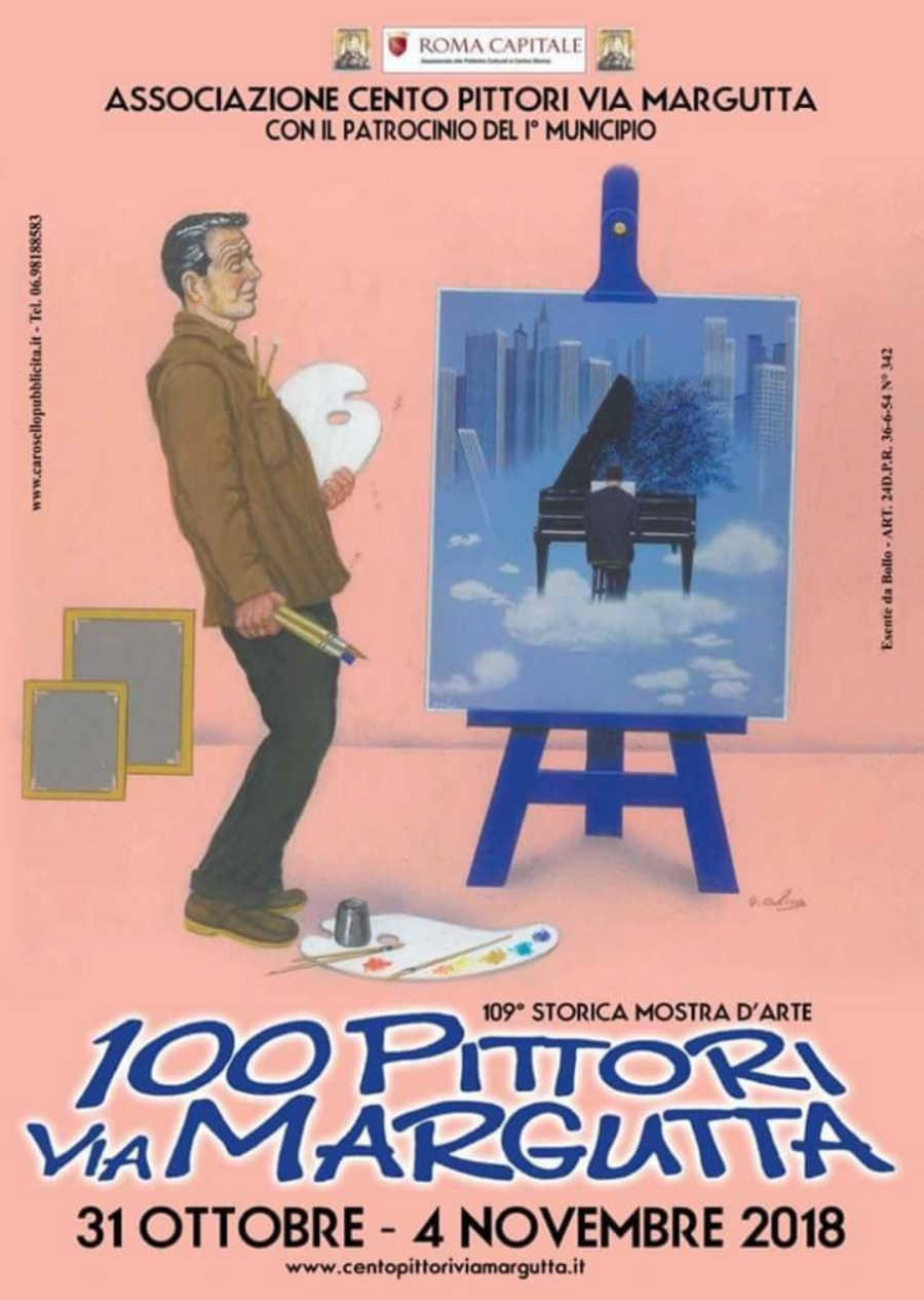 Mostra 100 Pittori di Via Margutta